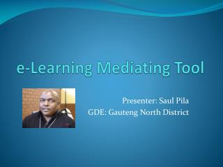 e-Learning Mediating Tool