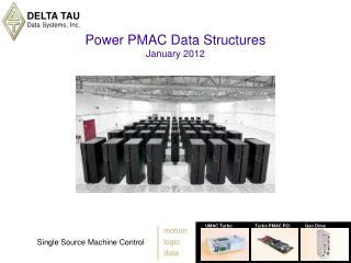 Power PMAC Data Structures January 2012