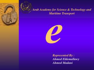 Arab Academy for Science & Technology and Maritime Transport