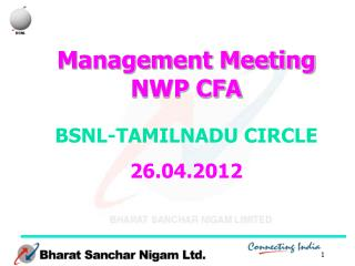 Management Meeting NWP CFA