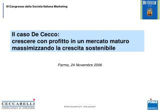 Parma, 24 Novembre 2006