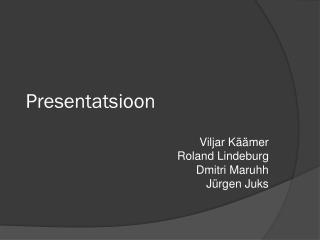 Presentatsioon