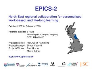 North East regional collaboration for personalised, work-based, and life-long learning