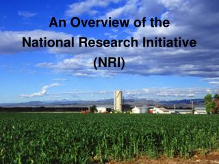 An Overview of the National Research Initiative NRI