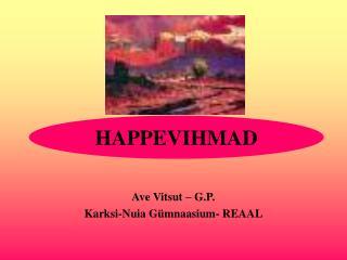 HAPPEVIHMAD