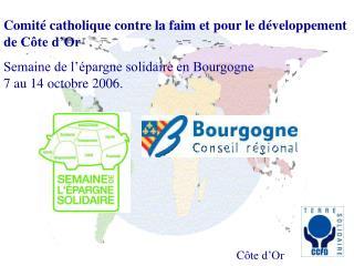 Comité catholique contre la faim et pour le développement de Côte d'Or