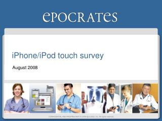 iPhone/iPod touch survey