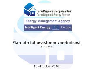 Elamute tõhusast renoveerimisest Kalle Virkus