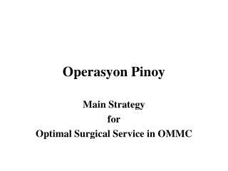 Operasyon Pinoy