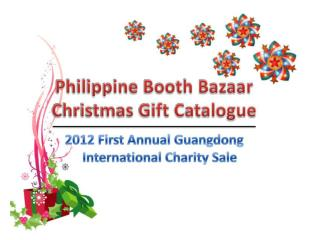 Bazaar and Philippine booth products featured in Guangzhou Morning Post on Nov 16, 2012