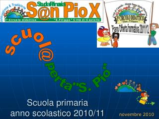 Scuola primaria anno scolastico 2010/11