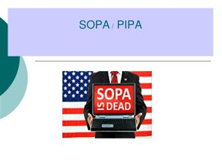 SOPA  /  PIPA