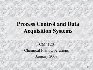 Process Control and Data Acquisition Systems