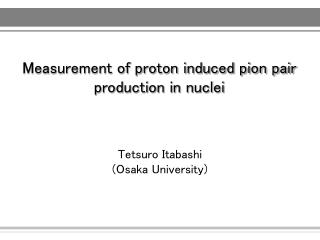 Measurement of proton induced pion pair production in nuclei