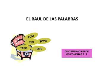EL BAUL DE LAS PALABRAS