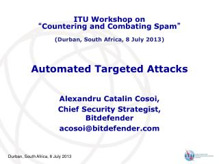 Automated Targeted Attacks