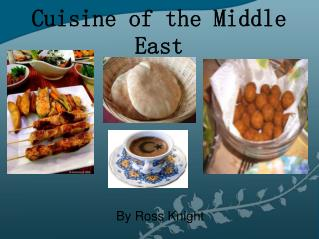 Cuisine of the Middle East