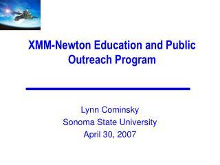 XMM-Newton Education and Public Outreach Program