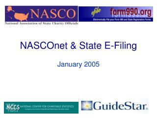 NASCOnet  State E-Filing