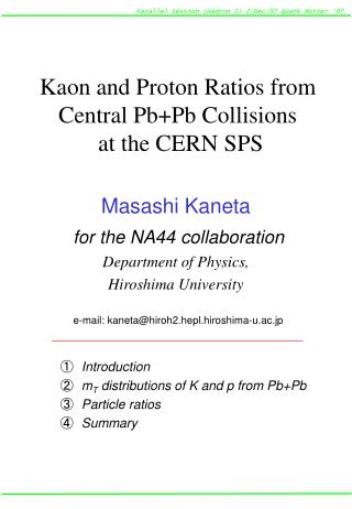 Kaon and Proton Ratios from Central Pb+Pb Collisions  at the CERN SPS