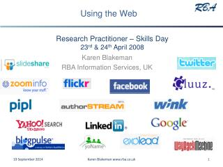 Research Practitioner – Skills Day 23 rd  & 24 th  April 2008