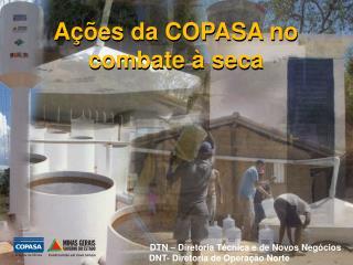 Ações da COPASA no combate à seca