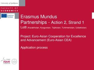 Erasmus Mundus  Partnerships -  Action 2, Strand 1