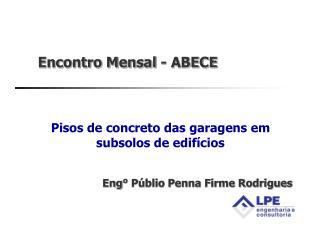 Encontro Mensal - ABECE