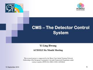 CMS – The Detector Control System