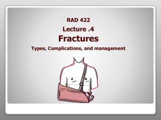 RAD 422 Fractures Types, Complications, and management