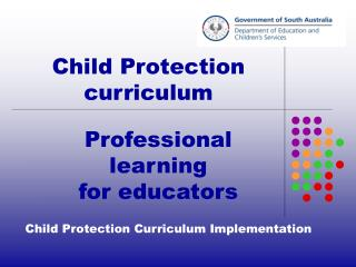 Child Protection Curriculum Implementation