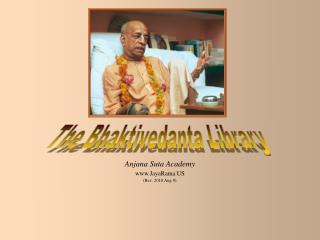 The Bhaktivedanta Library