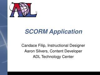 SCORM Application