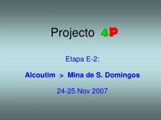 Projecto  4 P