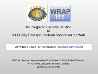 An Integrated Systems Solution to Air Quality Data and Decision Support on the Web