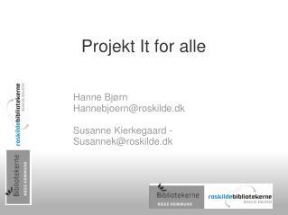 Projekt It for alle