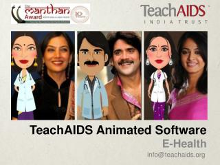 TeachAIDS Animated Software