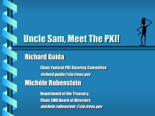 Uncle Sam, Meet The PKI!