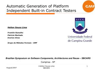 Automatic Generation of Platform Independent Built-in Contract Testers