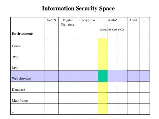 Information Security Space