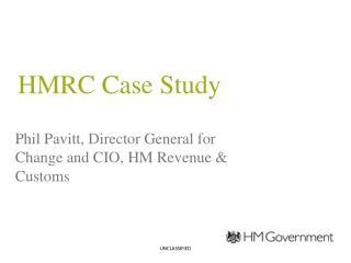 HMRC Case Study