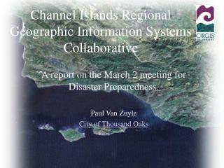 Channel Islands Regional Geographic Information Systems Collaborative