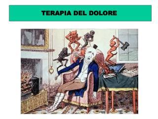 TERAPIA DEL DOLORE