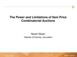 The Power and Limitations of Item Price Combinatorial Auctions