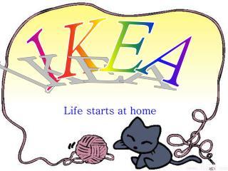 Life starts at home