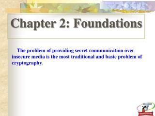 Chapter 2: Foundations