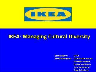 IKEA: Managing Cultural Diversity