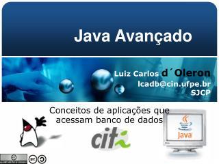 Conceitos de aplicações que acessam banco de dados