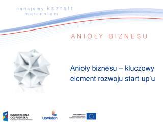 Anioły biznesu – kluczowy element rozwoju start-up'u