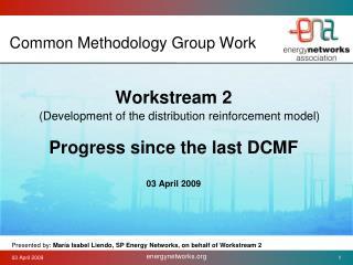 Common Methodology Group Work